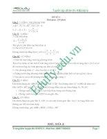 Tuyển tập 40 đề thi HSG toán lớp 9 mới nhất