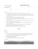 bài tập nhóm luật kinh doanh