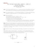 Tuyển tập các đề thi học sinh giỏi môn vật lí  lớp 11