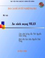 đồ án tốt nghiệp điện tử viễn thông An ninh mạng Wlan