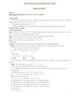 Giáo án phụ đạo và bồi dưỡng toán 6 (hay)