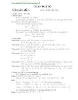 Các chuyên đề bồi dưỡng hsg toán 7