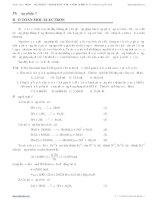 phương pháp bảo tòan mol electron