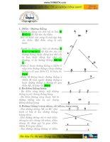 Hệ thống kiến thức môn toán THCS  tài liệu ôn thi THPT(hay)