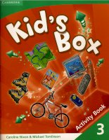 kid''s box 3 activity book