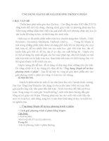 ỨNG DỤNG MAPLE để GIẢI PHƯƠNG TRÌNH VI PHÂN