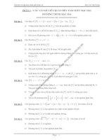 Tài liệu Bồi Dưỡng Học Sinh Giỏi Toán cấp 3