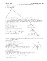 Chuyên đề về hình học  luyện thi vào lớp 10