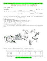 Bài tập di truyền bồi dưỡng HSG sinh học 9