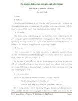 Tài liệu bồi dưỡng học sinh giỏi ngữ văn 9 ( cực hay)