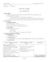 giáo án lý 6 cả năm 3 cột trọn bộ (theo chuẩn kiến thức mới)