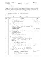 giáo án tiếng anh 7 kỳ 1(2013)