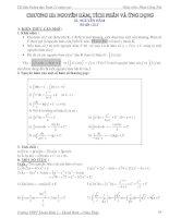 Nguyên hàm, tích phân và ứng dụng  Tài liệu bồi dưỡng toán 12 nâng cao