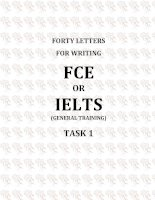 FCE writing for academic students