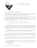 chuyên đề tin học chương 1 KIẾN THỨC CHUNG VỀ TIN HỌC VÀ MÁY TÍNH ĐIỆN TỬ