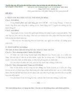 Tuyển tập các đề luyện thi đại học môn văn 2014 (có đáp án chi tiết kèm theo)