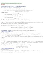Tuyển tập 17 bộ đề và đáp án thi thử đại học môn toán