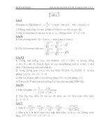 Tuyển tập bộ đề luyện thi đại học môn toán new (kèm lời giải chi tiết)
