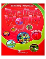 english world teacher book 1