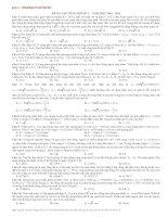 Tổng Hợp Vật Lí On Thi Dai hoc hay và khó