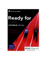 ready for cae course book 1