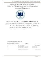 Đề tài 1   văn hóa kinh doanh mỹ và bài học cho doanh nghiệp VN