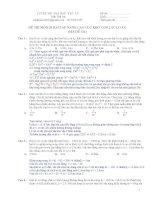 tổng hợp các bài tập vật lý hay và khó 2