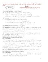 Tuyển tập 40 đề luyện thi đại học môn toán (có đáp án kèm theo)