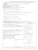 giáo án tự chọn bám sát vật lý 12