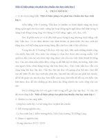 SKKN một số biện pháp rèn phát âm chuẩn cho học sinh lớp 1