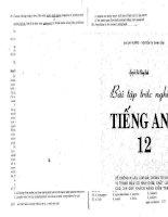 bài tập tiếng anh 12 ( có đáp án ) mai lan hương ( tải file docx nhá ^_^ )