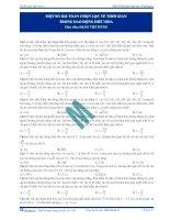 Bài toán chọn lọc về thời gian _ thầy Đặng Việt Hùng