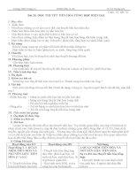 giáo án sinh học 12 cơ bản-học kỳ 2 đầy đủ chi tiết dùng luôn
