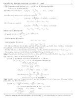 Chuyên đề: Một số dạng bài tập ESTE LIPIT