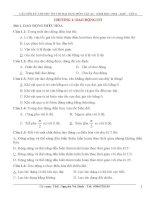 Câu hỏi lý thuyết ôn thi THPT quốc gia môn vật lý