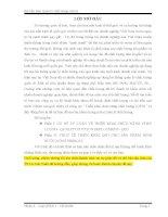 Bài tiểu luận Quản lý chất lượng THỰC TẾ TRIỂN KHAI QFD CHO SẢN PHẨM BÌNH NƯỚC NÓNG FERROLI