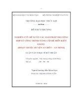 Luận văn Ths NGHIÊN CỨU ĐỀ XUẤT CÁC GIẢI PHÁP THI CÔNG HỢP LÝ CÔNG TRÌNH NÂNG CẤP ĐÊ BIỂN KIÊN GIANG
