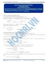 tài liệu bài tập este vòng và bài toán đồng phân este