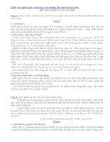 36 đề văn nghị luận xã hội hay (có hướng dẫn làm bài chi tiết)