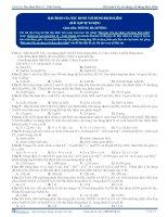 bài toán CO2 tác dụng với dung dịch kiềm