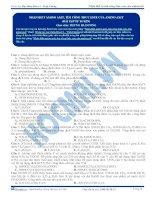 bài tập nhận biết tìm công thức este của Aminoaxit