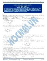 bài tập este vòng và bài toán đồng phân este