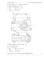 tính toán thiết kế quy trình công nghệ gia công thân động cơ ts130