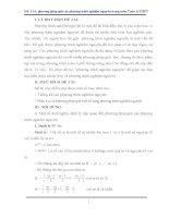 SKKN phương pháp giải các phương trình nghiệm nguyên trong môn toán ở THPT