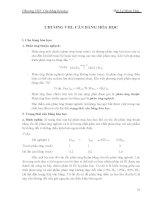 Hóa đại cương: Cân bằng hóa học