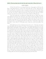 Phương pháp làm bài tập đảo ngữ trong môn tiếng anh SKKN lớp 11