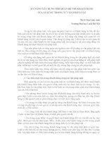 KỸ NĂNG XÂY DỰNG MỐI QUAN HỆ VỚI KHÁCH HÀNG CỦA LUẬT SƯ TRONG TƯ VẤN PHÁP LUẬT