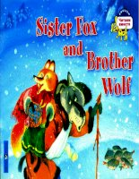 sister fox and brother wolf
