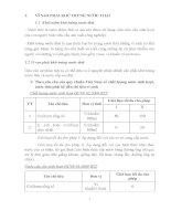 bài tập tiểu luận Khử trùng nước thải