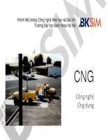 Công nghệ sản xuất và ứng dụng của CNG